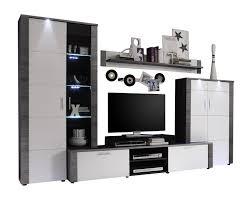 Wohnzimmerschrank Ohne Tv Fach Trendteam Xp98710 Wohnwand Anbauwand Wohnzimmerschrank Xpress
