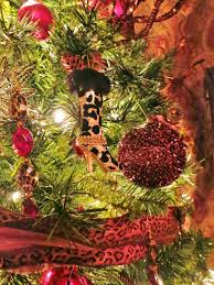 life by the pool it u0027s just better cheetah christmas tree