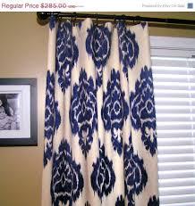 navy blue ikat curtains designs windows u0026 curtains
