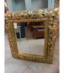 specchi con cornice specchio con cornice in legno scolpito emporio d oltremare