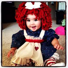 Halloween Costumes Red Hair 25 Raggedy Ann Costume Ideas Baby