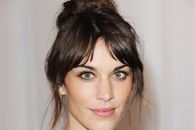 hairstyles with bangs and middle part hair talk center part bangs jennysue makeup