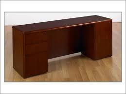 computer desk and credenza kneespace credenza 66x20