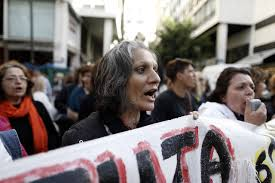 greece rehires laid off cleaners as syriza reverses austerity wsj