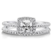 princess cut cubic zirconia wedding sets wedding rings princess cut engagement rings trio wedding ring