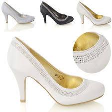 wedding shoes essex stiletto satin shoes essex glam for women ebay