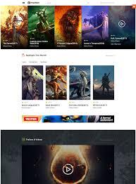20 coolest movie templates web template customization