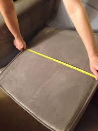 foam sofa cushions inserts how to replace your couch seat cushions snapguide