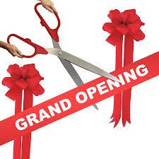 grand opening ribbon grand opening kit 36 silver ceremonial ribbon