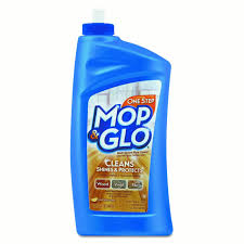 can u use mop and glo on laminate floors