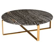 black and gold side table rosa modern marble coffee table black brushed gold