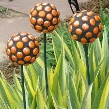 decorative garden stakes dayri me