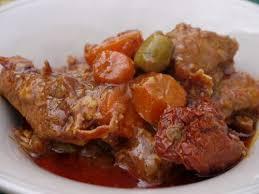 cuisine corse veau aux olives stuffatu de veau aux olives foodlolo