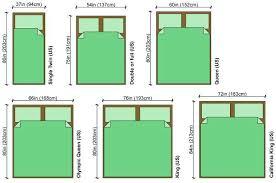 Duvet Size Chart Mattress Sizes In Centimeters Best Quality Mattress Design Ideas