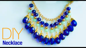 necklace from beads images How to make necklace at home diy statement necklace jewelry jpg
