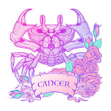cancer colors zodiac zodiac cancer pastel colors stock vector illustration of defence