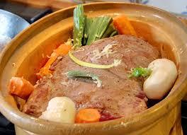 cuisiner du paleron de boeuf paleron de veau confit au comté ses petits légumes du printemps