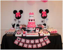 minnie mouse birthday real pink zebra minnie mouse inspired 1st birthday party