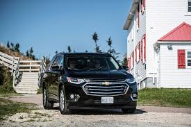 chevrolet traverse blue first drive 2018 chevrolet traverse exhausted ca