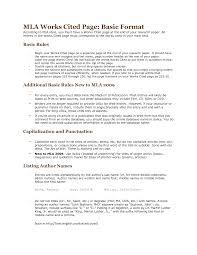 Standard Essay Format Example Best Photos Of Standard Mla Format Example Mla Format First Page