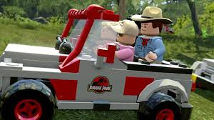jurassic park car toy lego jurassic world ps4 review