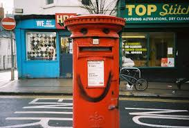 happy post box should of not bothered with the smile as th flickr