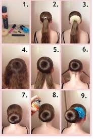 howtododoughnut plait in hair image result for how to properly use a bun donut long hair girls