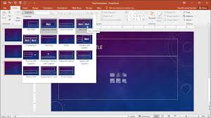 tutorial powerpoint design slide layouts in powerpoint tutorial teachucomp inc