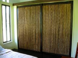 bamboo closet doors home interior design