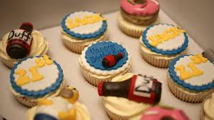 simpsons birthday cupcakes bakealous