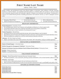 Sample Resume For Dental Office Manager by Dental Student Resume Dental Resume Examples Innovational Ideas