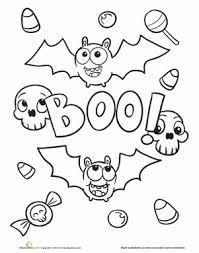 halloween bat worksheet education com