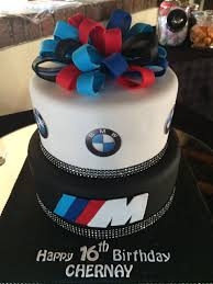 bmw two layer birthday cake on we heart it
