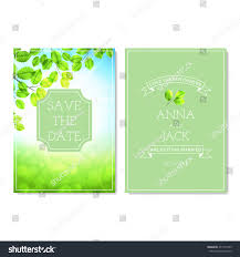 Official Invitation Card Set Wedding Invitation Cards Unusual Vector Stock Vector 271571459