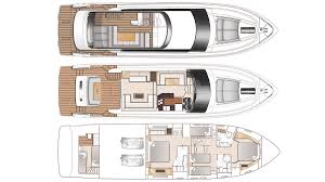 Yacht Floor Plan by Princess 64 Yacht Interior Design 2017 New Yacht Interiors