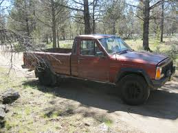 lifted jeep comanche 1986 jeep comanche mj 4x4 5spd v6 2 8 long bed no rust runs and