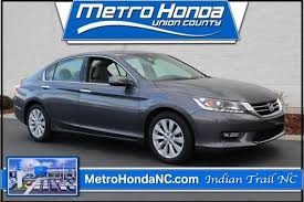 certified used 2013 honda accord charlotte area indian trail nc