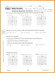 Graphing Linear Functions Worksheet Pdf 8 Quadratic Functions Worksheet Lvn Resume