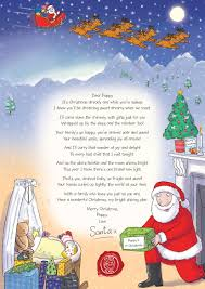 a special christmas nspcc letter from santa santa can even write a special letter