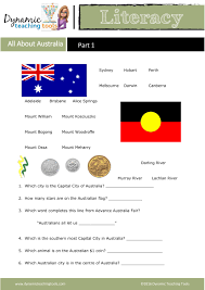 How Many Stars Are On The Flag All About Australia U2013 Part 1 Dynamic Teaching