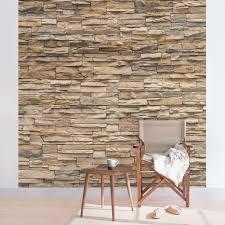 Fototapete Wohnzimmer Modern Fototapete No 4301 Steinwand Tapete Steinoptik Sandstein Steine