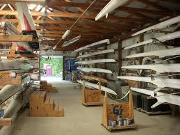Boat House Grand Valley Rowing Facilities Equipment