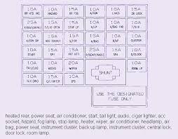 2002 hyundai santa fe fuse box diagram image details within