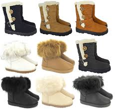womens size 12 fur lined boots womens quilted winter fur lined fashion ankle boots