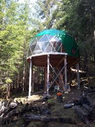geodome house wilderness geodome tiny house swoon