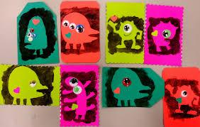 monster stencils choices for children