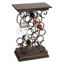 iron wine rack table u2013 excavatingsolutions net