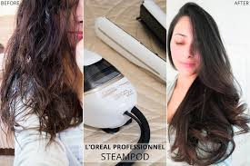how to make flicks with a hair straightener review l oreal steod 2 0 straightener before after ysis