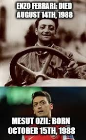 Ozil Meme - coincidence much they look exactly alike imgflip