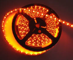 burnt orange water resistant led flex strips led lights